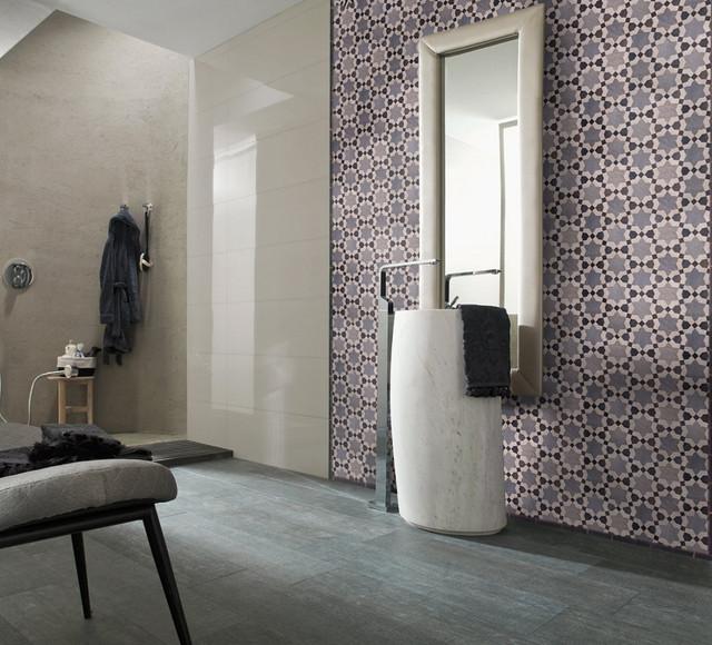 Contemporary Zellige - Moderne - Salle de Bain - Autres ...