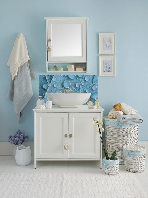 cr dence lavabo feuille d 39 eau. Black Bedroom Furniture Sets. Home Design Ideas