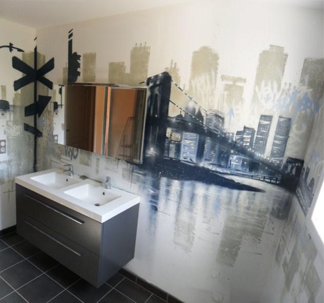 carrelage salle de bain new york