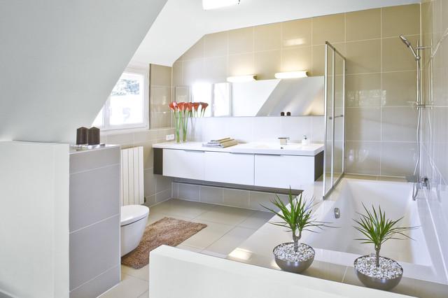 Design&Architecture d'intérieure contemporain-salle-de-bain