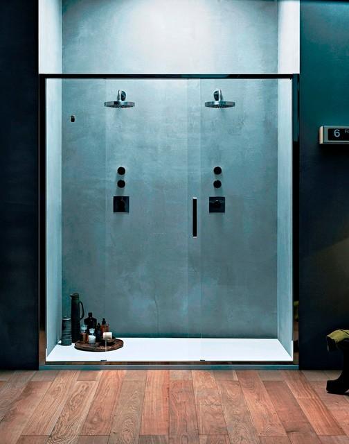 Douche Hammam Sauna Moderne Salle de Bain Paris par