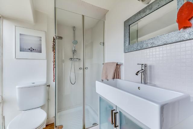 duplex caulaincourt clectique salle de bain paris par meero. Black Bedroom Furniture Sets. Home Design Ideas