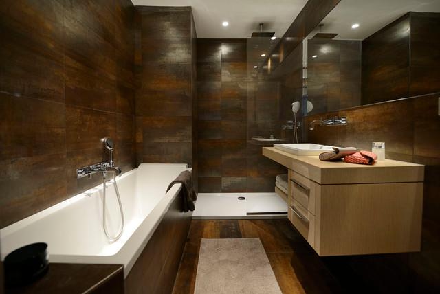 Керамогранит в ванную комнату