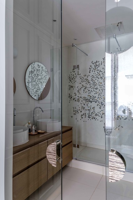 Haute couture contemporain salle de bain paris par for Art et decoration abonnement