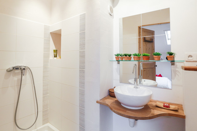 Home staging salle de bain m diterran en salle de bain for Salle de bain home staging