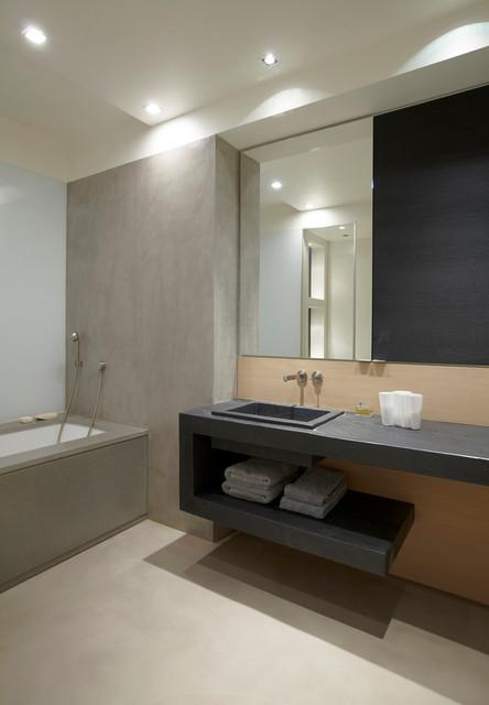 H tel particulier avec jardin de 800 m2 salle de bains for Sdb design
