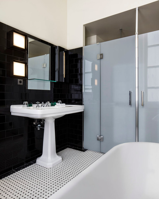 hotel saint marc paris realisation dimorestudio contemporary bathroom lyon by. Black Bedroom Furniture Sets. Home Design Ideas
