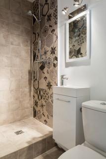Idées de carrelage de petite salle de bain : Photos et idées ...