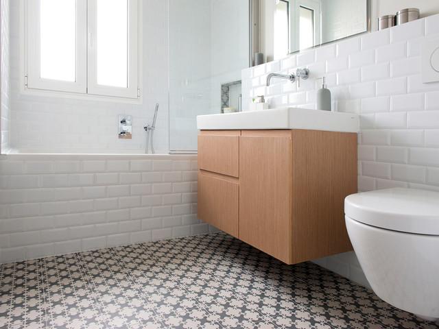 Ambiance scandinave for Carrelage salle de bain scandinave