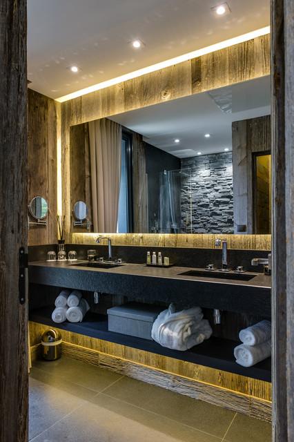 lodges zoo de la fl che contemporain salle de bain rennes par st phane le ludec photographe. Black Bedroom Furniture Sets. Home Design Ideas
