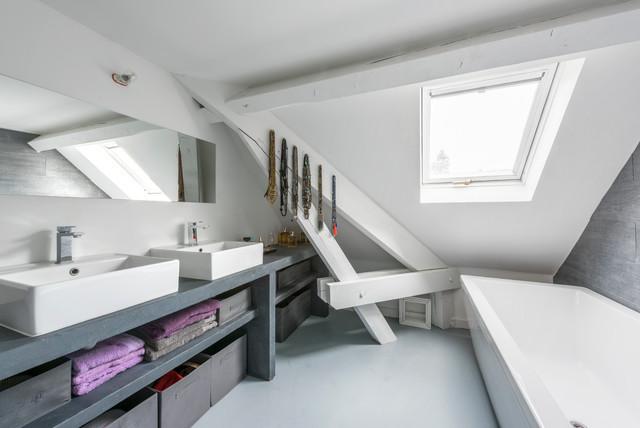 Loft contemporain rénové par architecte designer 2015 ...