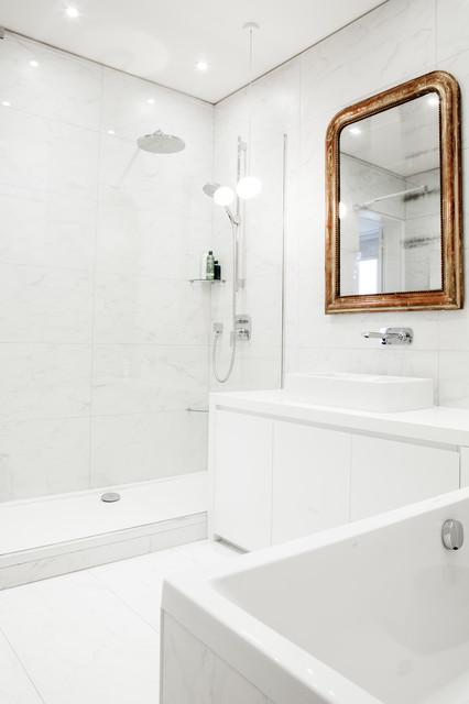 louvre 200m2 contemporary bathroom paris by g raldine lafert. Black Bedroom Furniture Sets. Home Design Ideas
