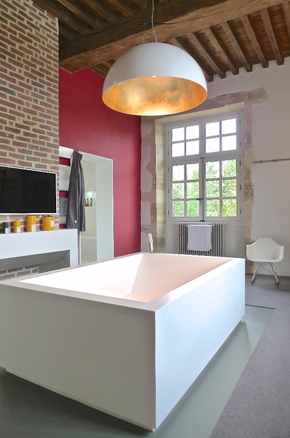 Maison 150 m2 - Petit Château du 17ème siècle - Contemporain - Salle ...