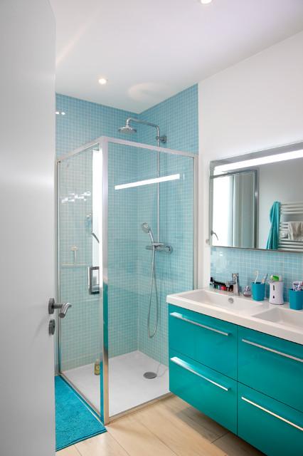 maison bois contemporaine contemporain salle de bain dijon par myotte duquet habitat. Black Bedroom Furniture Sets. Home Design Ideas
