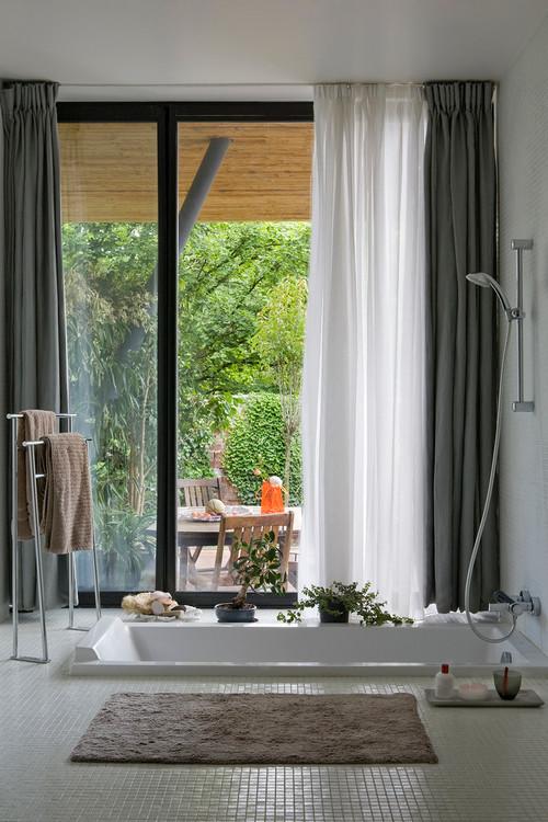 Maison contemporaine à Sèvres, banlieue chic parisienne