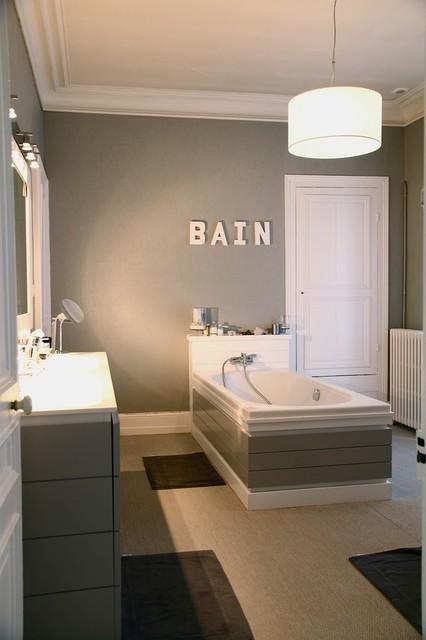 maison de ville cherbourg contemporain salle de bain. Black Bedroom Furniture Sets. Home Design Ideas