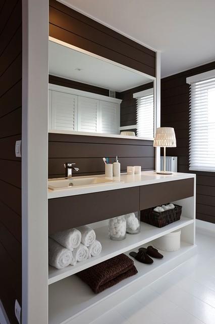 maison expo de waregem b contemporain salle de bain