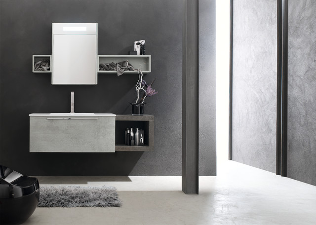mobilier de salle de bain e ly d 39 arcom moderne salle de bain other metro par mooze la. Black Bedroom Furniture Sets. Home Design Ideas