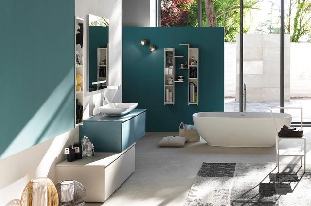 Mobilier de salle de bain la fenice d 39 arcom for Meuble urano