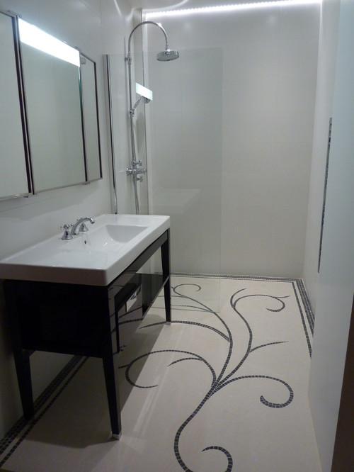 Personnalisez votre sol de salle de bains grâce à la mosaïque
