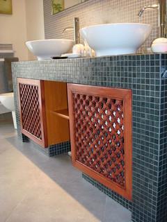 moucharabiehs by ateliers zelij salle de bain toulouse par ateliers zelij. Black Bedroom Furniture Sets. Home Design Ideas