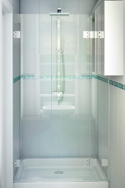 Paroi de douche appartement leroyer classique salle de - Douche appartement ...
