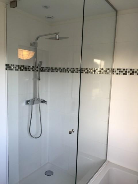 Porte de douche en verre - Porte verre salle de bain ...