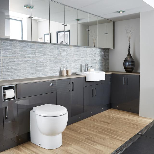 Portfolio bathroom contemporary bathroom for Bathroom design portfolio