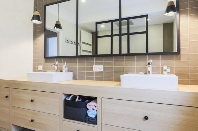 prises de vue salle de bain contemporain salle de bain nancy par rodolphe lebois. Black Bedroom Furniture Sets. Home Design Ideas