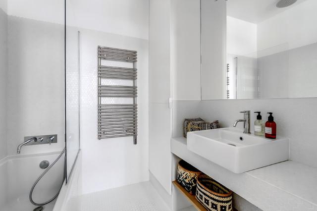 PROJET LAMARTINE, Transition Interior Design Architectes: Margaux Meza et Carla contemporain-salle-de-bain