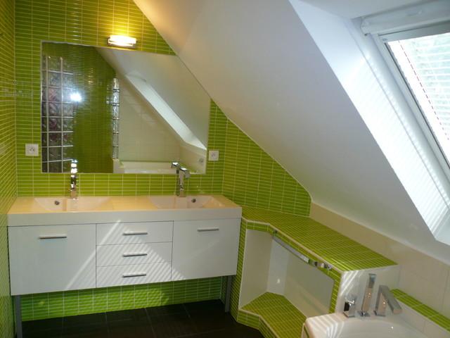R alisations salles de bains - Salle de bain modern ...