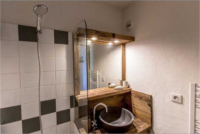 r novation appartement la montagne salle de bain montagne salle de bain grenoble par. Black Bedroom Furniture Sets. Home Design Ideas