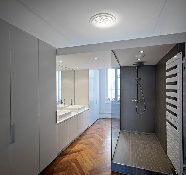 Rénovation appartement de standing - Classique Chic - Salle de Bain ...