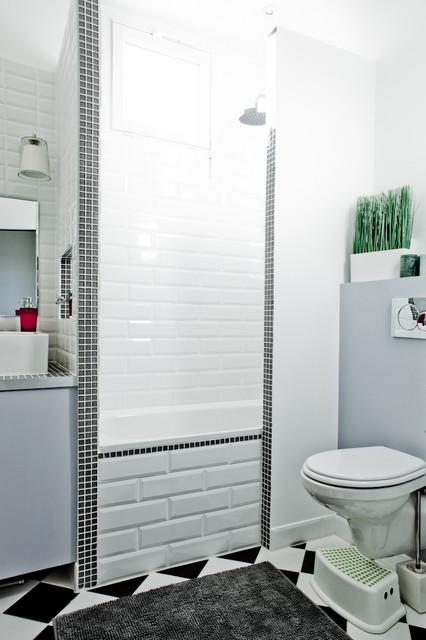 r novation appartement paris architecte d 39 int rieur paris contemporary bathroom other. Black Bedroom Furniture Sets. Home Design Ideas