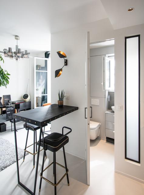 Rénovation d\'un Studio de 20 M2 - Modern - Badezimmer ...