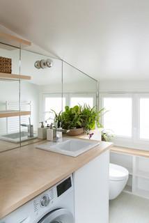 Petite salle de bain scandinave : Photos et idées déco de ...