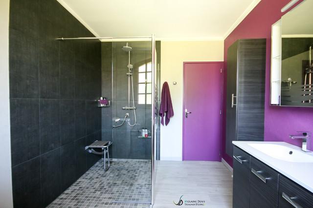 Rénovation Du0027une Salle De Bain Accessibilité PMR   Moderne   Salle De Bain    Toulouse   Par Violaine Denis
