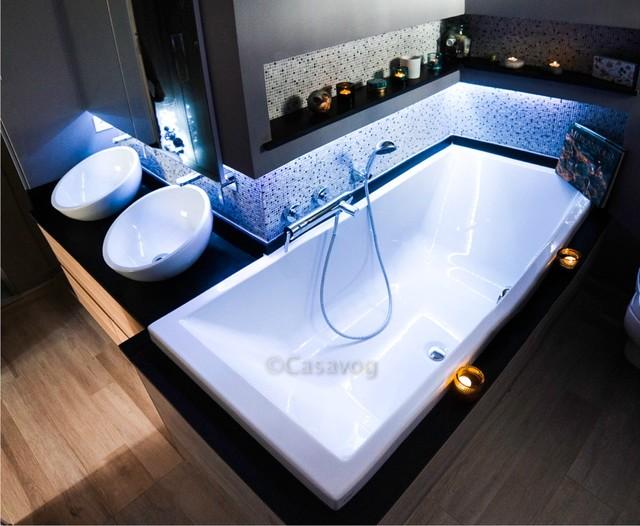 r novation d 39 une salle de bain de 6 m2 contemporary
