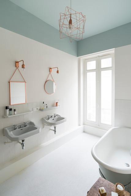 Rénovation décoration maison bourgeoise - Scandinave - Salle de Bain ...