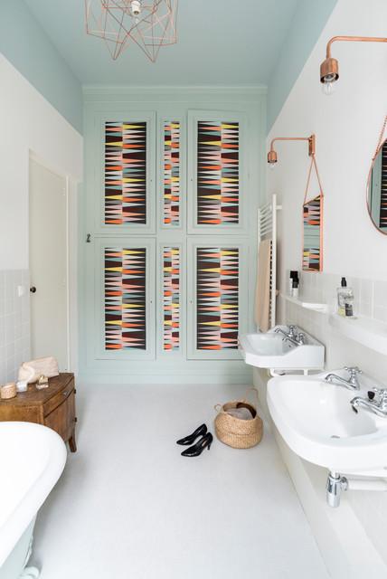 Rénovation décoration maison bourgeoise - Scandinavian - Bathroom ...