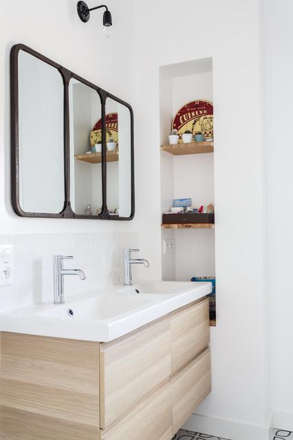 Renovation Maison Familiale Avec Verriere Industrielle Projet Rochegude ³ンテンポラリー Ƶ´å®¤ Ä»–の地域 Mon Concept Habitation Houzz Ïウズ