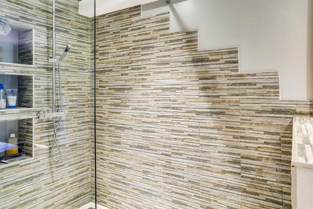 rénovation salle de bain - Contemporain - Salle de Bain ...