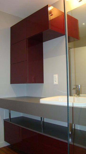 R novation salle de bain d modern bathroom rennes by inner design - Salle de bain modern ...