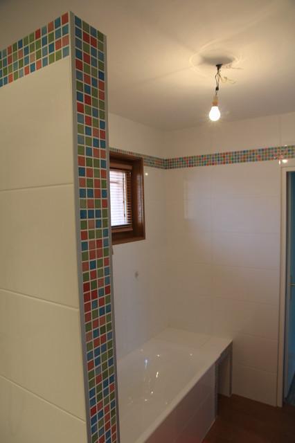 Renovation salle de bains enfants contemporary - Salle de bain enfants ...