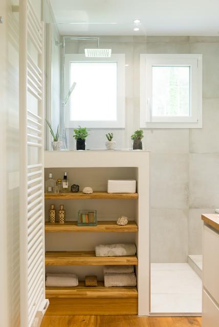 Rénovation salle de bains - Classique Chic - Salle de Bain ...