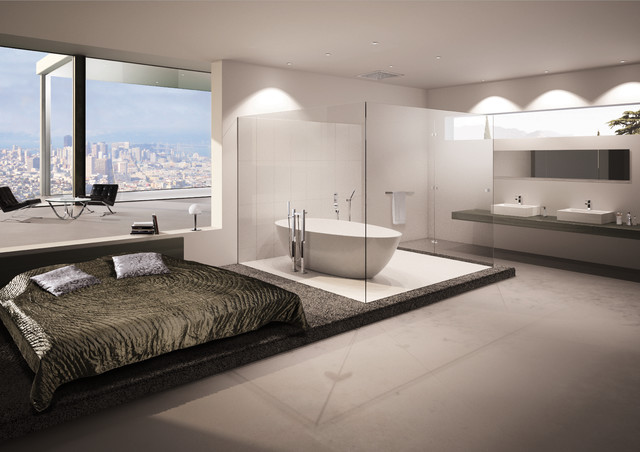 modele salle de bain moderne meilleures images d. Black Bedroom Furniture Sets. Home Design Ideas