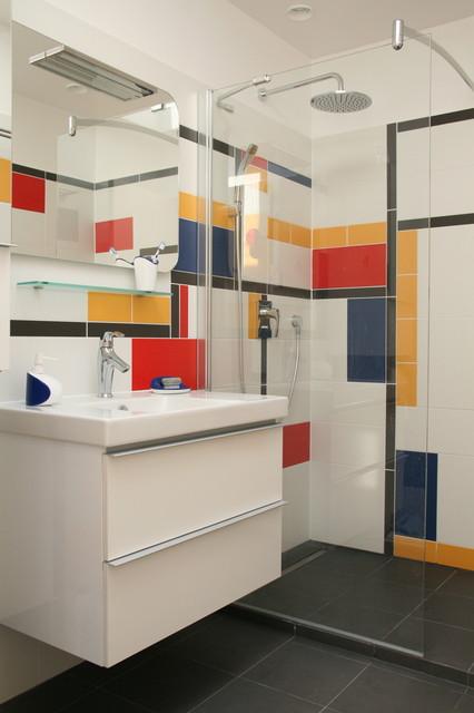 rueil malmaison contemporain salle de bain paris par chiara colombini. Black Bedroom Furniture Sets. Home Design Ideas