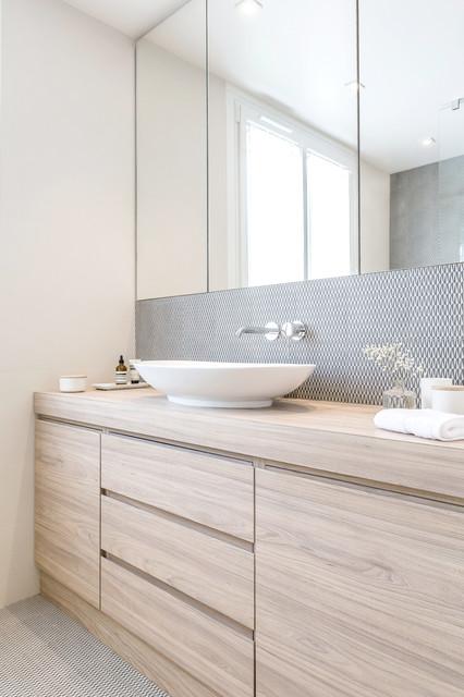 SALLE DE BAIN A RUEIL MALMAISON - Modern - Bathroom - Paris - by ...