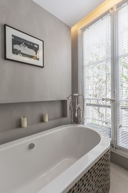 Salle de bain Classique chic - Transitional - Bathroom - Paris - by ...