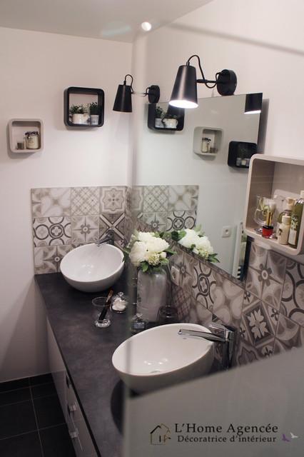 Salle de bain Cosy Chic - Klassisch modern - Badezimmer ...